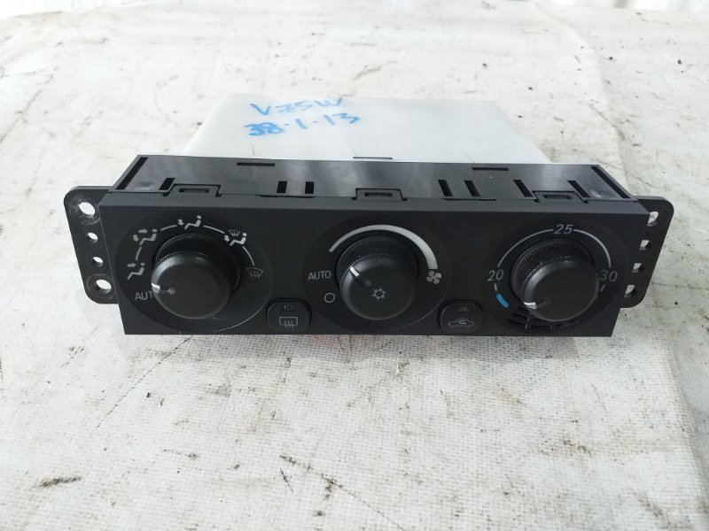 Блок управления климат-контролем Mitsubishi Pajero V75W 6G74 2000 (б/у)