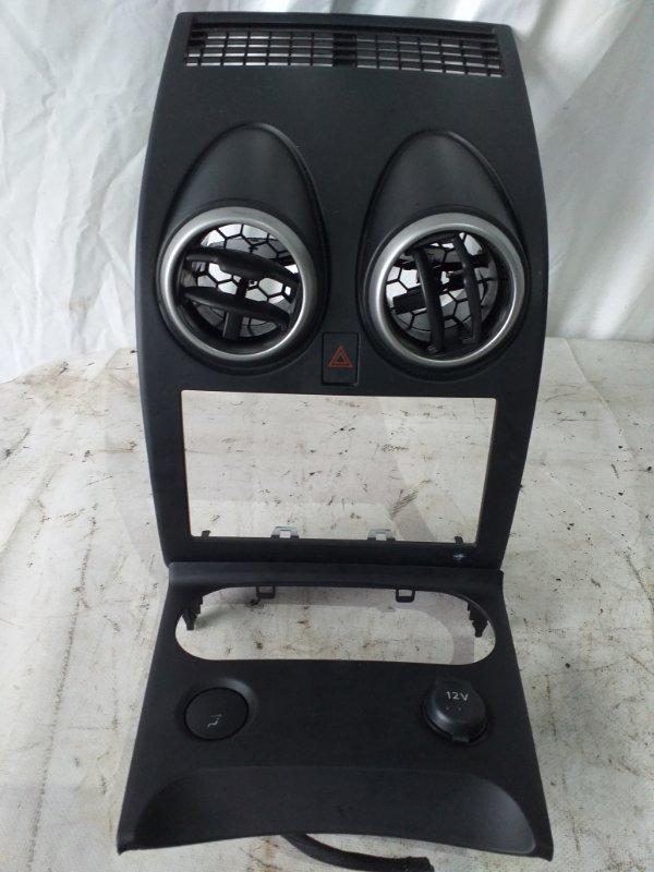 Консоль магнитофона Nissan Dualis KNJ10 MR20 (б/у)