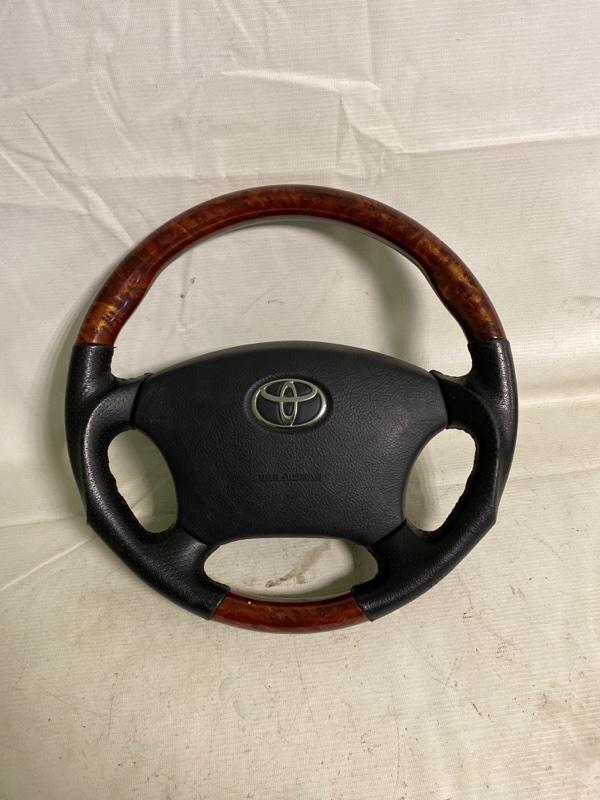 Руль Toyota Land Cruiser Prado RZJ120 3RZ-FE 2002.10 (б/у)