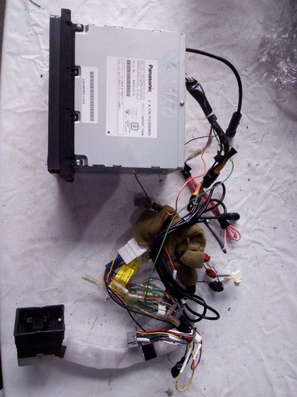 Магнитофон Toyota Land Cruiser Prado RZJ120 3RZ-FE 2002.10 (б/у)
