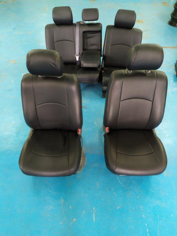 Чехол на кресло Toyota Land Cruiser Prado RZJ120 3RZ-FE 2002.10 (б/у)