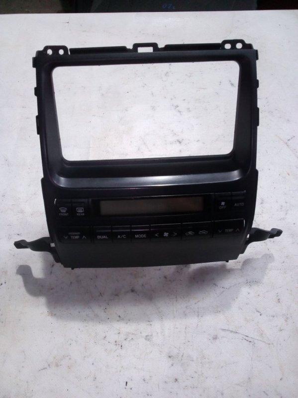 Блок управления климат-контролем Toyota Land Cruiser Prado RZJ120 3RZ-FE 2002.10 (б/у)