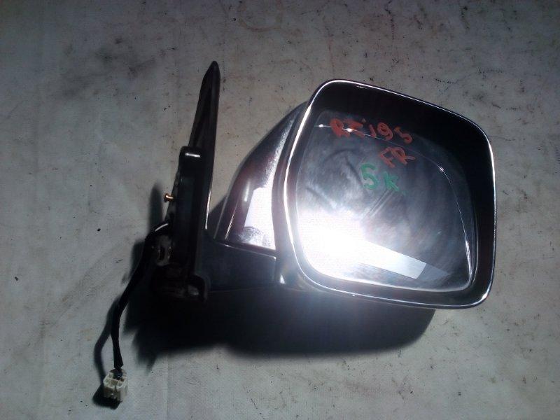 Зеркало Toyota Land Cruiser Prado RZJ95 3RZ-FE 1999.05 переднее правое (б/у)