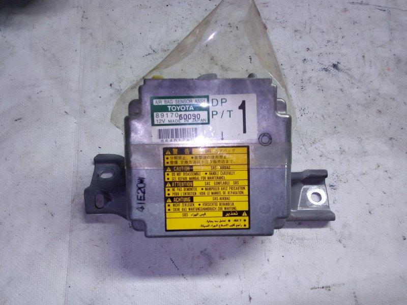 Блок управления airbag Toyota Land Cruiser Prado RZJ95 3RZ-FE 1999.05 (б/у)