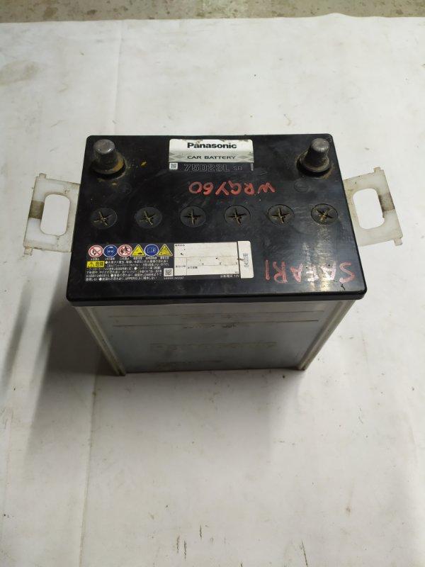Аккумулятор Nissan Safari WRGY60 TD42 1992.03 (б/у)