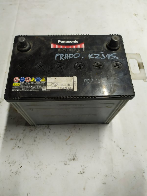 Аккумулятор Toyota Land Cruiser Prado RZJ95 3RZ-FE 1999.05 (б/у)