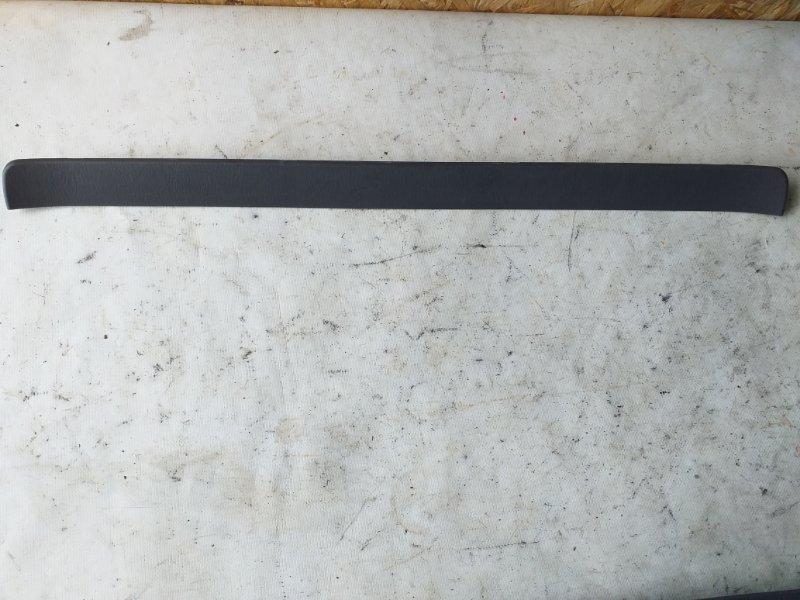 Накладка на порог салона Toyota Land Cruiser Prado RZJ120 3RZ-FE 2002.10 передняя левая (б/у)