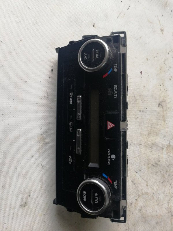 Блок управления климат-контролем Toyota Camry AVV50 2AR-FXE 2012.03 (б/у)