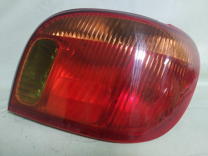 Стоп-сигнал Toyota Vitz NCP15 1NZ-FE 2000.02 задний правый (б/у)