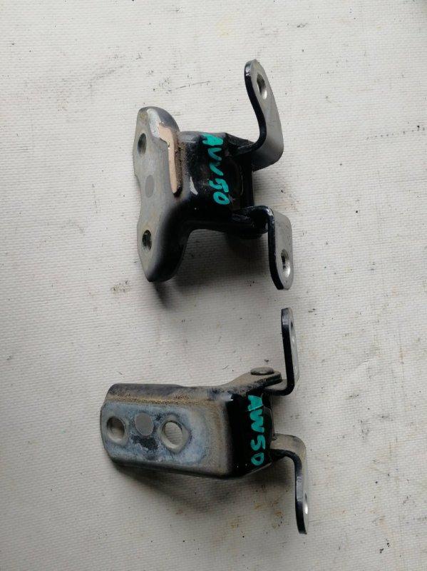 Петли на дверь Toyota Camry AVV50 2AR-FXE 2012.03 задние правые (б/у)