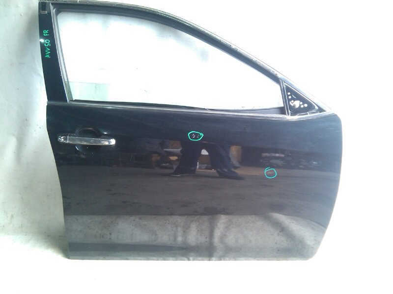 Дверь боковая Toyota Camry AVV50 2AR-FXE 2012.03 передняя правая (б/у)