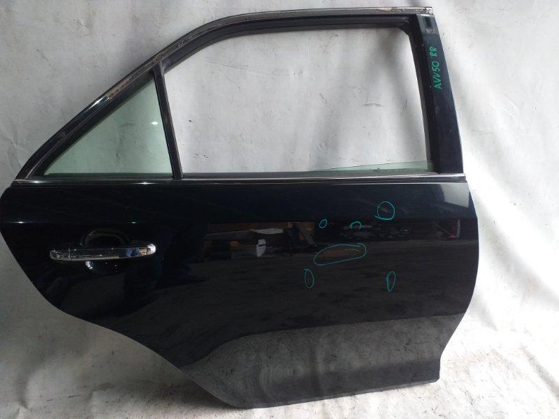 Дверь боковая Toyota Camry AVV50 2AR-FXE 2012.03 задняя правая (б/у)