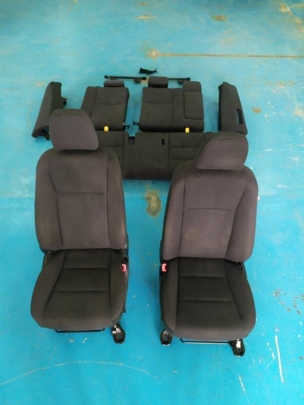 Сидение Toyota Camry AVV50 2AR-FXE 2012.03 переднее левое (б/у)