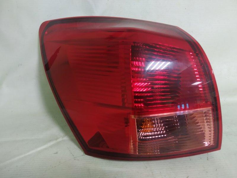 Стоп-сигнал Nissan Dualis KNJ10 MR20 2009 задний левый (б/у)