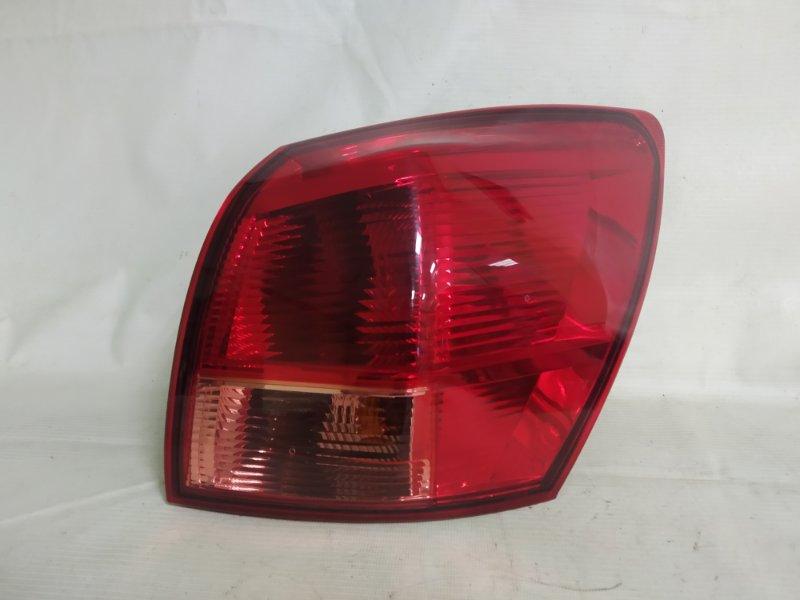 Стоп-сигнал Nissan Dualis KNJ10 MR20 2009 задний правый (б/у)