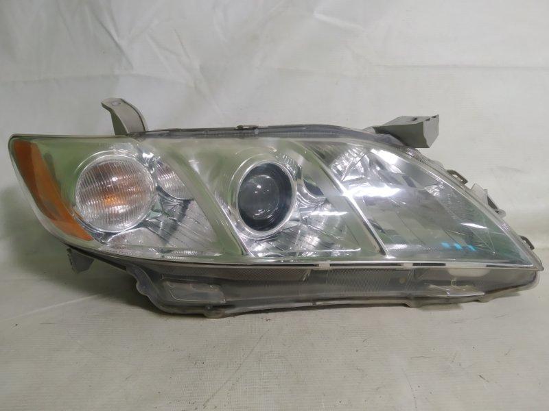 Фара Toyota Camry ACV40 2AZ-FE 2006 передняя правая (б/у)