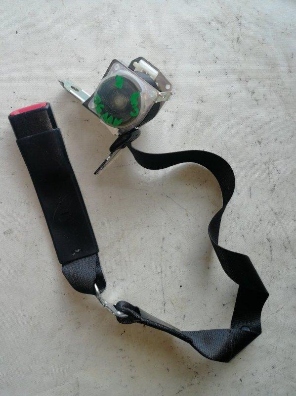 Ремень безопасности Toyota Camry AVV50 2AR-FXE 2012.03 задний (б/у)
