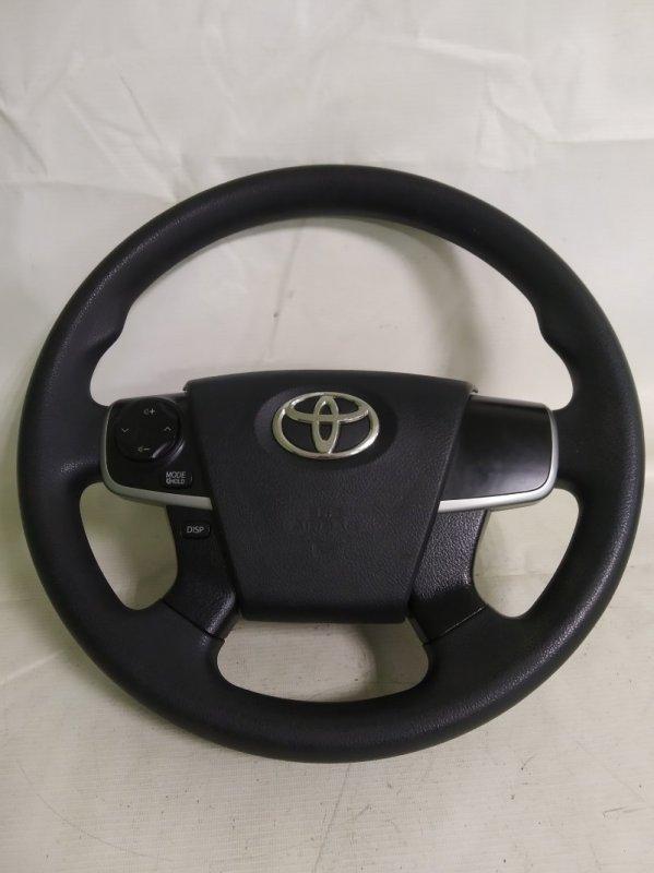 Руль Toyota Camry AVV50 2AR-FXE 2012.03 (б/у)