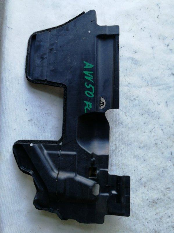 Защита радиатора Toyota Camry AVV50 2AR-FXE 2012.03 передняя левая (б/у)