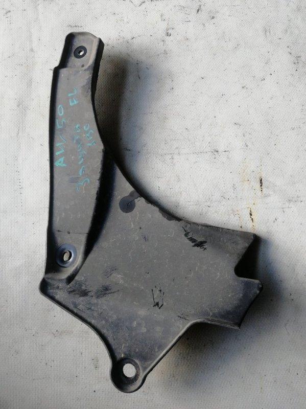 Защита двигателя Toyota Camry AVV50 2AR-FXE 2012.03 передняя левая (б/у)