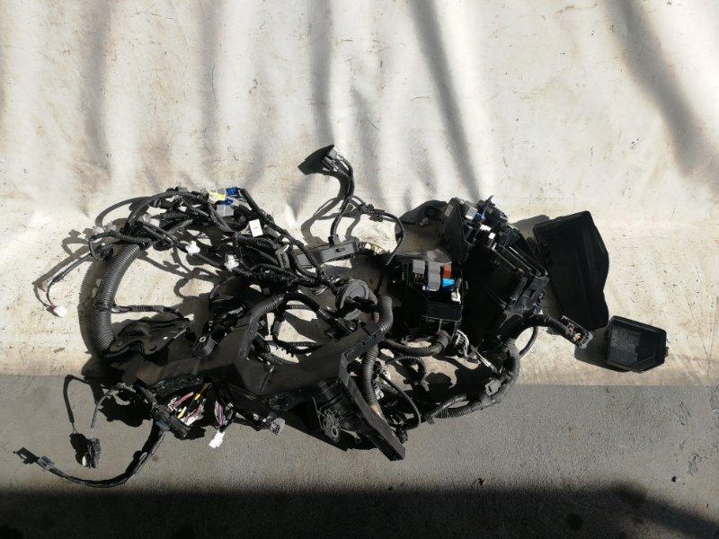 Электропроводка моторного отсека Toyota Camry AVV50 2AR-FXE 2012.03 (б/у)