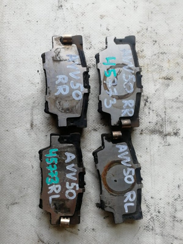 Тормозные колодки Toyota Camry AVV50 2AR-FXE 2012.03 заднее (б/у)