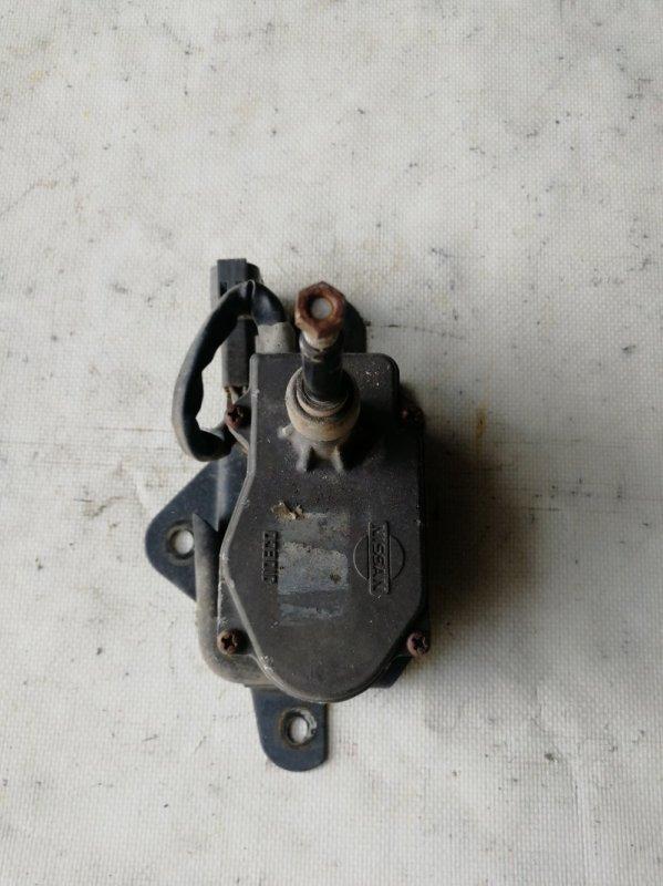 Мотор дворников Nissan Safari WRGY60 TD42 1992.03 передний левый (б/у)
