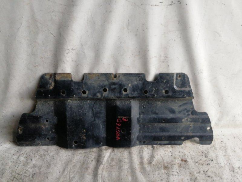 Защита двигателя Nissan Safari WRGY60 TD42 1992.03 передняя (б/у)