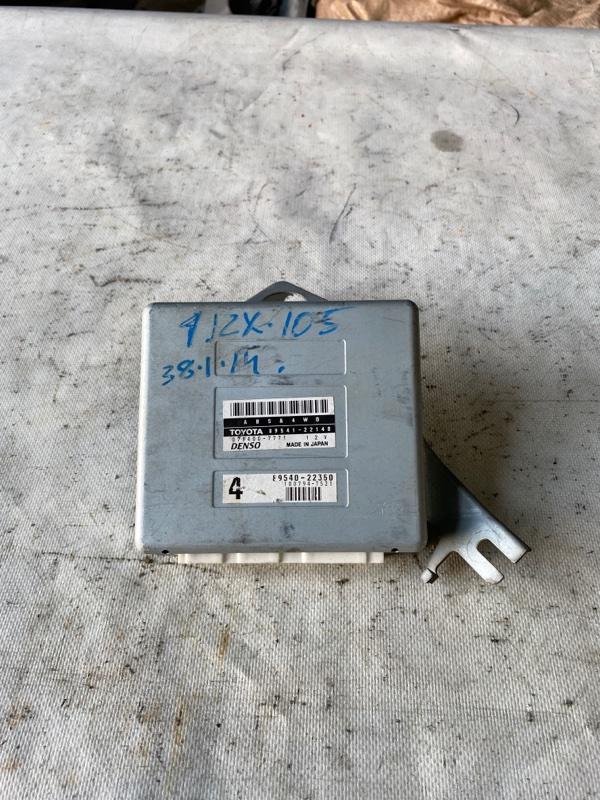 Блок управления abs Toyota Mark Ii JZX105 1JZ-GE (б/у)