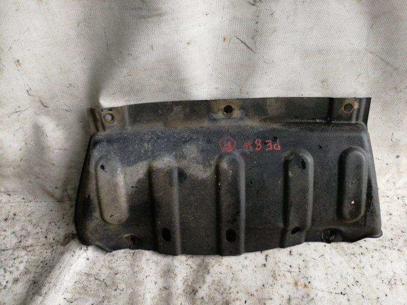 Защита Mitsubishi Delica PE8W 4M40 передняя (б/у)