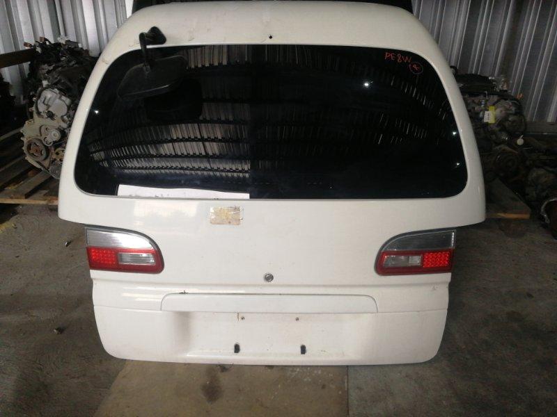 Дверь задняя Mitsubishi Delica PE8W 4M40 задняя (б/у)