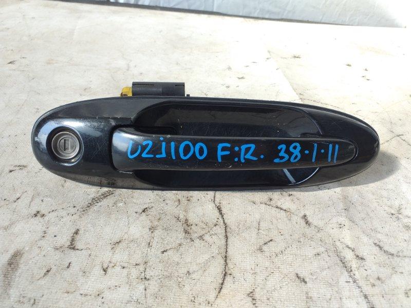 Ручка двери Toyota Land Cruiser Cygnus UZJ100 2UZ-FE передняя правая (б/у)
