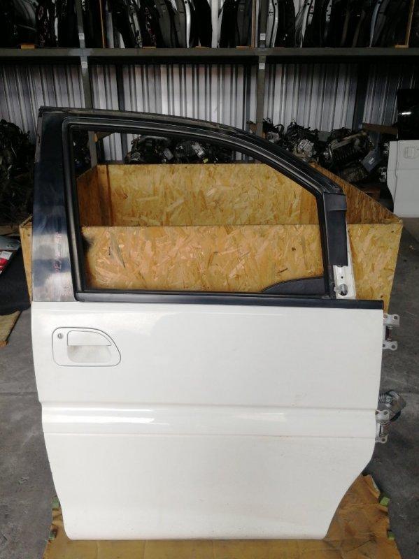 Дверь боковая Mitsubishi Delica PE8W 4M40 передняя правая (б/у)