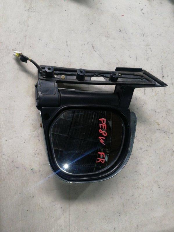 Зеркало Mitsubishi Delica PE8W 4M40 переднее правое (б/у)