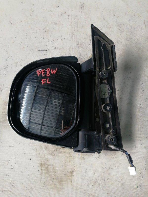 Зеркало Mitsubishi Delica PE8W 4M40 переднее левое (б/у)