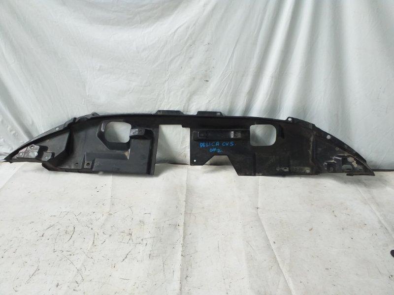 Защита замка капота Mitsubishi Delica CV5W 4B12 2007 передняя (б/у)