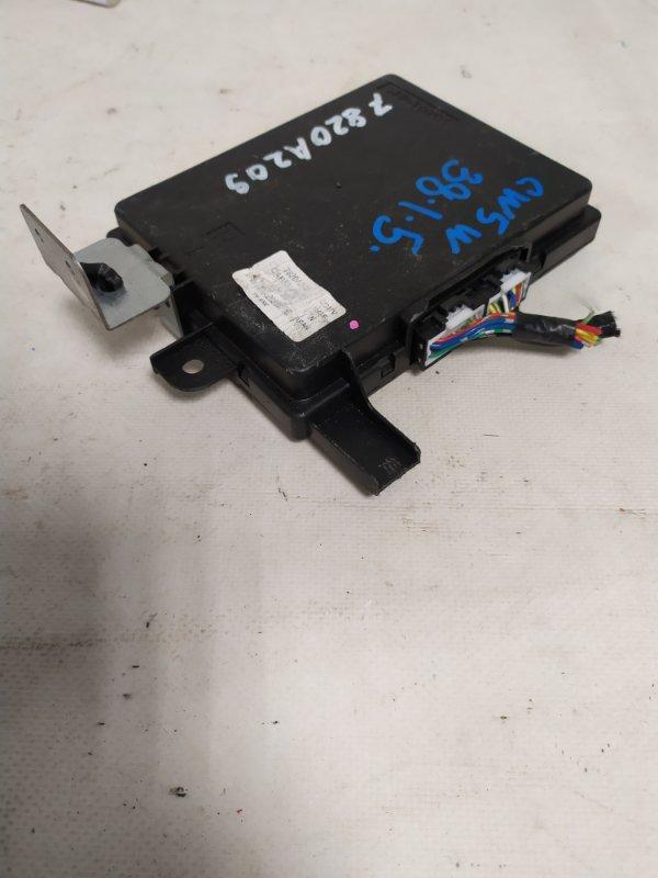 Блок управления климат-контролем Mitsubishi Outlander CW5W 4B12 (б/у)