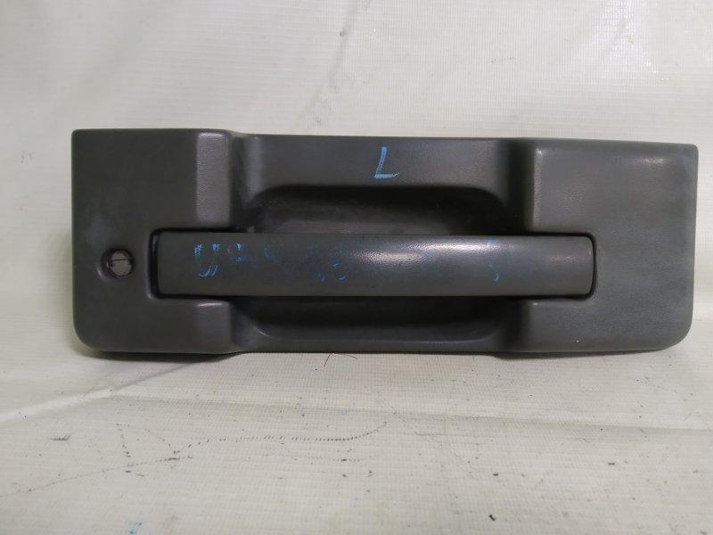 Ручка двери Isuzu Bighorn UBS69 4JG2 2001 задняя левая (б/у)