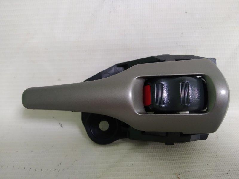 Ручка двери внутренняя Toyota Blade AZE156 2AZ-FE задняя правая (б/у)