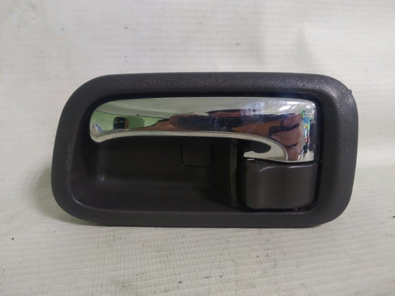 Ручка двери внутренняя Toyota Cresta JZX105 1JZ-GE задняя левая (б/у)