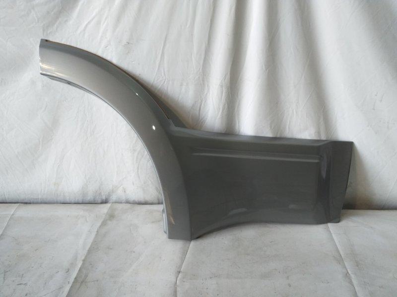 Дефендер Mitsubishi Pajero V75W задний правый (б/у)