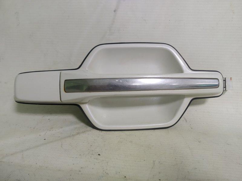 Ручка двери Mitsubishi Pajero V78W 4M41 задняя правая (б/у)