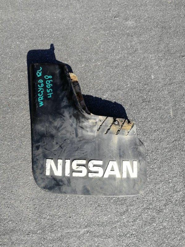 Брызговик Nissan Safari WRGY60 TD42 1992.03 задний левый (б/у)