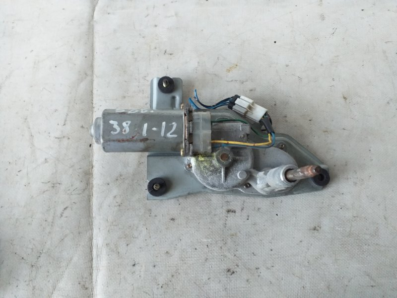 Мотор дворников Mitsubishi Pajero V78W задний (б/у)
