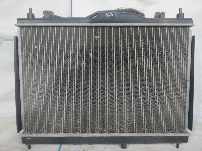 Радиатор двс Nissan Juke YF15 HR15 2010 передний (б/у)