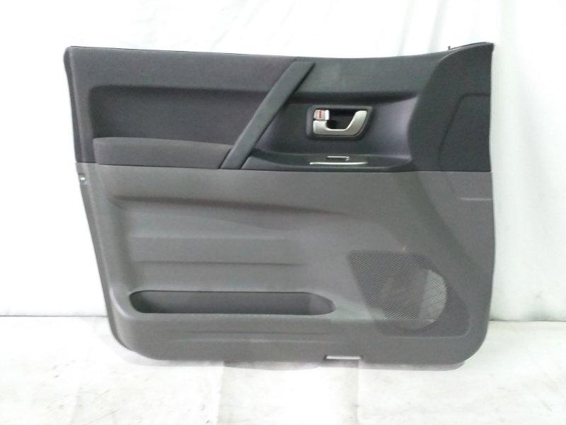 Обшивка дверей Mitsubishi Pajero V75W передняя левая (б/у)