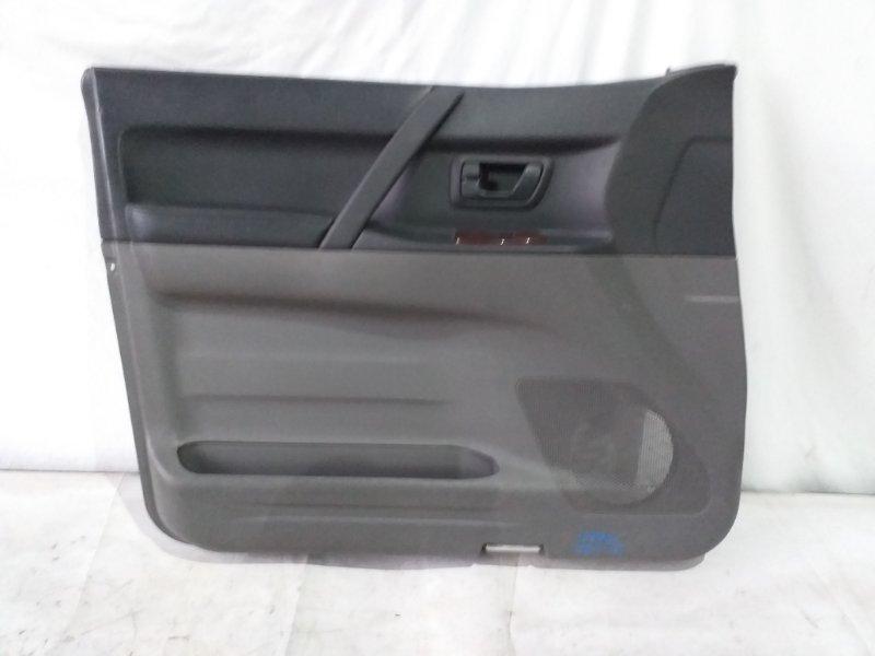 Обшивка дверей Mitsubishi Pajero V78W передняя левая (б/у)