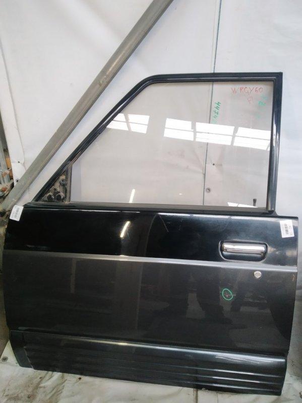 Дверь боковая Nissan Safari WRGY60 TD42 1992.03 передняя левая (б/у)