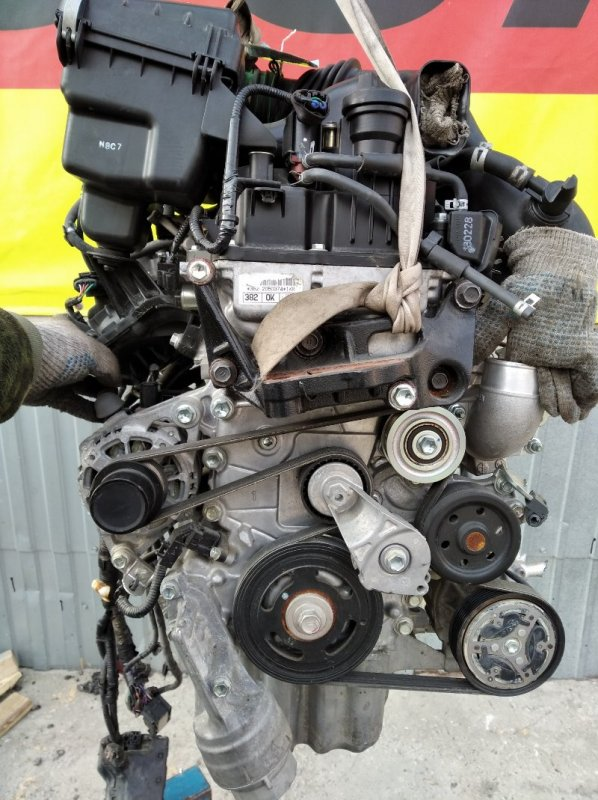 Двигатель Toyota Tank M900S 1KR-2050374 (б/у)