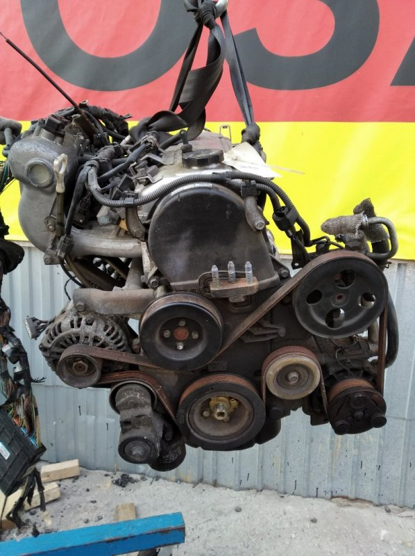 Двигатель Mitsubishi Airtrek CU2W 4G63-GB6524 (б/у)